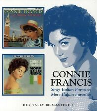 Sings Italian Favorites/More Italian Favorites - Connie Francis (2006, CD NEU)