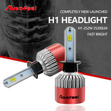2x H1 252W 25200LM Philips LED Headlight Kit 6500K White Car Bulbs Lamps Light