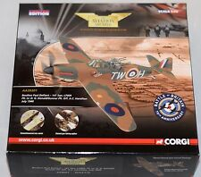 CORGI AVIATION ARCHIVE AA39301 BOULTON PAUL DEFIANT - HAMILTON 1:72 SCALE LTD ED