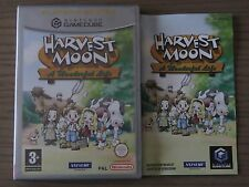 JEU NINTENDO GAMECUBE  HARVEST MOON A WONDERFUL LIFE  COMPLET