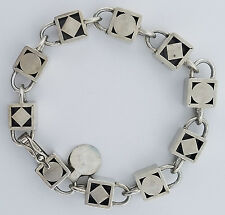 """WILLIAM SPRATLING"""" BOX BRACELET"""" STERLING SILVER  AUTHENTIC EXTREMELY RARE!!!!!!"""