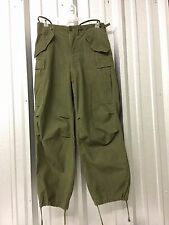 US MILITARY VINTAGE M65 FIELD PANTS M51 OG107 COLD WEATHER TROUSERS MEN'S S USGI