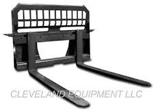 NEW PALLET FORKS AND FRAME ATTACHMENT for / fits Bobcat Skid Steer Track Loader