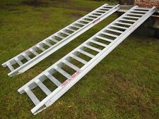 5 Tonne Capacity Machinery Loading Ramps 3.6 Metres x 400mm track width