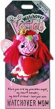 "Watchover VOODOO DOLL Keychain, WATCHOVER MOM, Bestest Mom Ever, 3"" Tall"