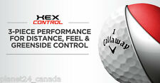 120 MINT CALLAWAY HEX CONTROL Used Golf Balls | Recycled Golf Balls + Tees