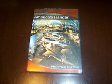 AMERICA's HANGAR  Air & Space Museum Jets NASA Space History Smithsonian DVD NEW