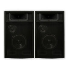 "Acoustic Audio PA365X Pair 1000 Watts 6.5"" 3-Way PA DJ Studio Speakers PA-365X"
