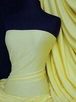Lemon stretch light cotton jersey fabric t shirts