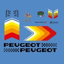 Peugeot Bicycle Frame Stickers - Decals - Transfers - n.8
