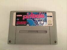 Super Nintendo SNES Spiel - Pinball Dreams