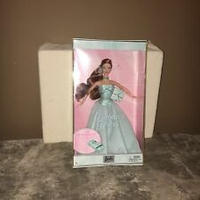 NIB~ BIRTHDAY WISHES BARBIE IN MINT COLORED DRESS!