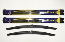 2007-2014 Smart Fortwo Goodyear Hybrid Style Wiper Blade Set of 2
