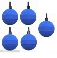 "5 X FISH POND OR AQUARIUM 50MM 2"" AIRSTONES AIR STONES BUBBLE BALL AERATION POOL"