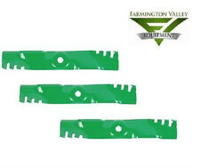 John Deere 325 335 345 425 445 48C Predator Mulch Blades Set of 3 M115495 PD1024