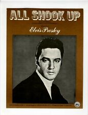ELVIS PRESLEY Sheet Music 1957 All Shook Up BRITISH-1