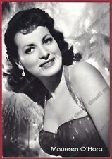 MAUREEN O' HARA 10 ATTRICE ACTRESS ACTRICE CINEMA MOVIE Cartolina NON FOTOGRAF.