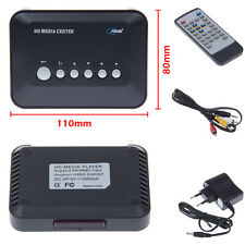720p HD Media Center Movie RM/RMVB/AVI/MPEG/MKV/MP4 TV Player USB SD/MMC Real