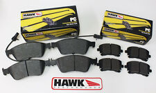 Audi A8 Front & Rear Low Dust Hawk Performance Ceramic Brake Pads