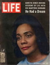 LIFE August 29 1969 Coretta King, Vonnegut, Leakey, Nuclear Energy, Marciano