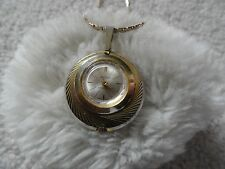 Swiss Made Taylor Wind Up Necklace Pendant Watch