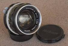 Nikon Nikkor S 35mm F2.8 Manual Focus lens circa 1972 - Beautiful condition