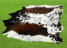 "New Cowhide Rugs Area Cow Skin Leather  (65""x 60"") Cow hide LWP-9603"