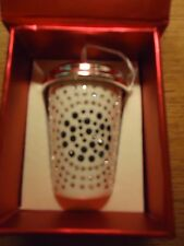 SWAROVSKI Crystal STARBUCKS Limited Edition Ornament HTF NEW IN BOX