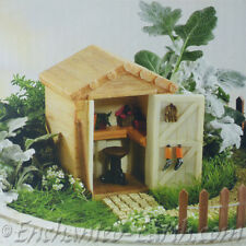 NEW FAIRY GARDEN /MINIATURE GARDEN/ FAIRY SHED /GARDEN OUT HOUSE WITH TOOLS