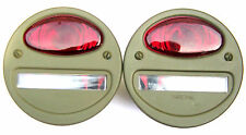 Jeep mb/gpw-queue lampe - 12 volt x 2-A1064 (ruby) - nos -