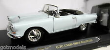 RICKO 1/18 SCALE - 32157B AUTO UNION 1000SP ROADSTER BLUE DIECAST MODEL CAR