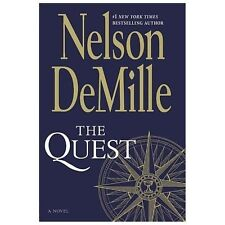 THE QUEST: A Novel by Nelson DeMille Fictional Thriller & Love Story PAPERBACK