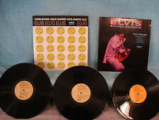 2 Records 1 Price! Elvis Presley, Raised on Rock / Worldwide Gold Hits Parts 1&2