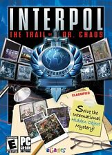 INTERPOL THE TRAIL OF DOCTOR CHAOS PC DVD * ORIGINAL FACTORY SEALED *