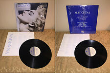 MADONNA TRUE BLUE VINYL LP 1986 SIRE RECORDS 9 25442-1 SHRINKWRAP & STICKER