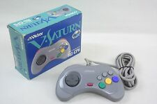 Victor V Saturn Controller Pad Boxed RG-CP6 GOOD Condition Tested Sega JP 1809