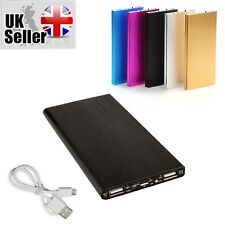 BLACK 100000mah Power Bank Pack Backup Charger for Smart Phones Iphone5 6