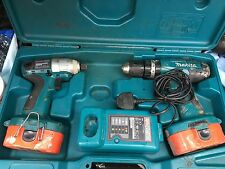 Makita 8391 18v COMBI-Hammer And Impact  Driver Perfect Condition