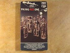 THE BIG RED ONE LEE MARVIN VHS NOT 1990-94-2000 WARNER 1ST EDITION 1984 CBS/FOX