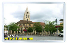 VITRY SUR SEINE FRANCE FRIDGE MAGNET SOUVENIR IMAN NEVERA