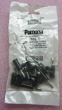 Pomona Electronics Banana Plugs Black 1825-0 (10 PCS) #TQ342