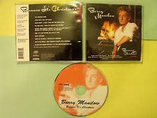 Barry Manilow, Because It's Christmas, Complete, Awesome CD!!