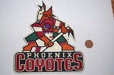 """Phoenix Coyotes 7"""" Vintage 1996-2003 Large Jacket Logo Patch Hockey"""