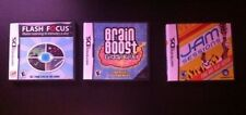 3 X Games: Brain Boost,Flash Focus, Jam Sessions-Nintendo  DS
