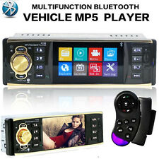 4.1 Bluetooth Car Stereo Audio In-Dash FM Aux Input Receiver SD USB MP3 Radio UK