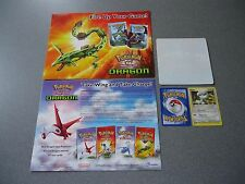Pokemon Trading Card Game Decal/Sticker, Dragon Flyer & Bagon Card