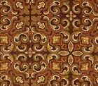 SALE~Outdoor/ Indoor ~ Decorator - Upholstery~Art Nouveau Style ~Fabric~1/4 yard
