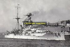 rp13337 - Royal Navy Warship - HMS Warspite , built 1915 - photo 6x4