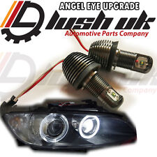 BMW 10W CREE X5 E70 X6 Angel Eyes H8 LED Marker Bulb RINGS XENON WHITE DIPPED