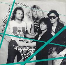 VAN HALEN  When It's Love / Cabo Wabo  45 with PicSleeve from 1988